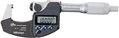 - Mitutoyo 293-344-30CAL Digimatic Micrometer with Calibration, 0-1