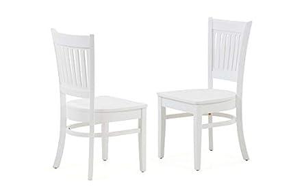Brilliant Amazon Com Wood Dining Chair With Square Legs Dining Creativecarmelina Interior Chair Design Creativecarmelinacom
