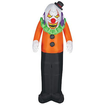 Scary Clown Airblown Inflatable (Clown Inflatable)