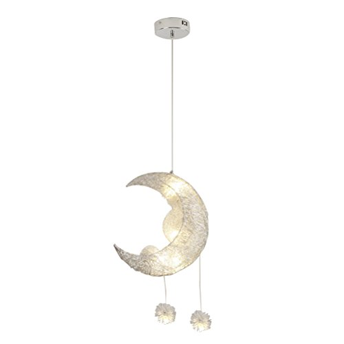 Moon And Stars Pendant Light in US - 8