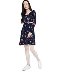 Max Rayon Blend Skater Dress
