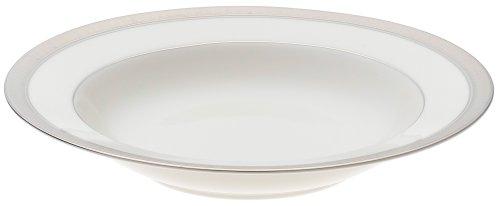 Platinum Rim Soup Plate - Mikasa Palatial Platinum Rim Soup Plate