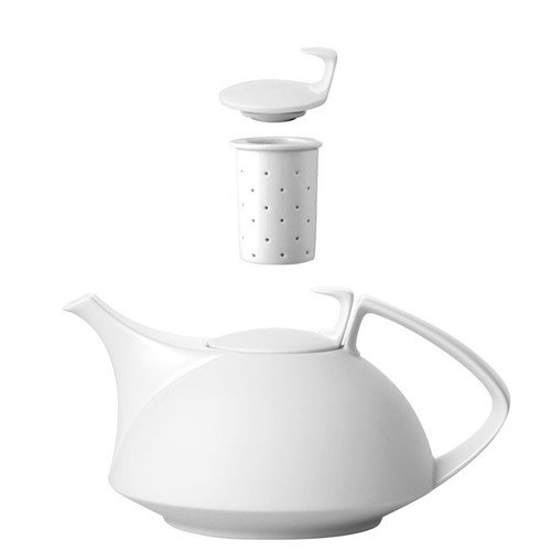 Tea Pot, 4-pc Set, 45 ounce | TAC 02 Skin - Silhouette Rosenthal