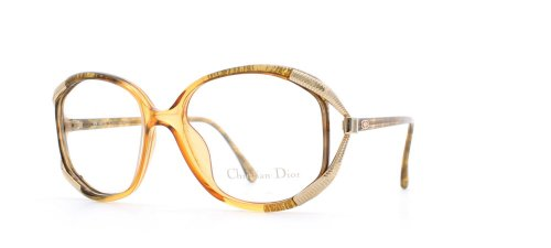 Christian Dior 2490 20 Orange and Brown Authentic Women Vintage Eyeglasses - Dior Frames 2014 Glasses