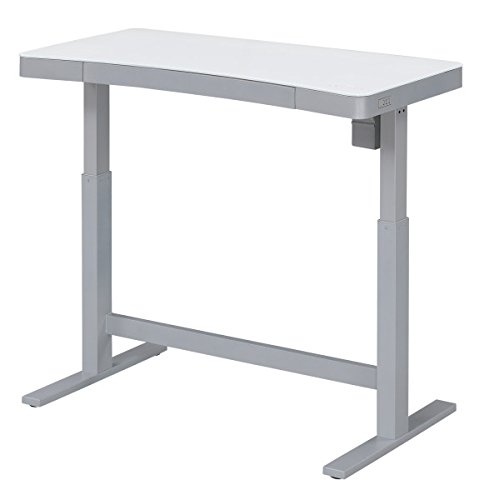 Bell'O Electric Adjustable Height Standing Desk, White by Bell'O