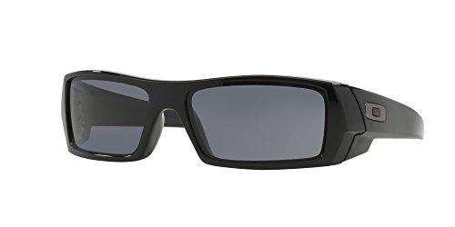 Oakley UniSex Gascan Polished Black Frame Grey Lens 03-471 - Frame Lens Grey 3 Black