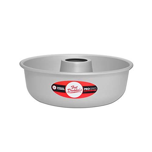 - Fat Daddio's RMP-9 Ring Mold Pan, 9 x 2 3/4 Inch, Silver