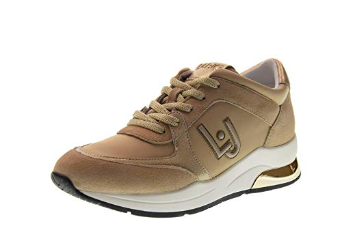 Zapatos Mujer Con Jo Bajas Zapatillas 12 Cuña Beige Liu Karlie Tx031 B19007 5qwS1xXx