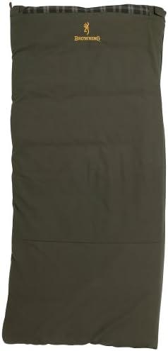 Browning Kobuk 30-Degree Oversized Rectangular Sleeping Bag