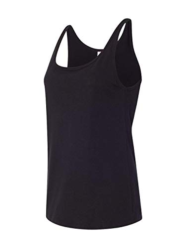 - Bella 6488 Ladies Relaxed Jersey Tank - Black, Extra Large
