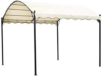 Toldo para jardín con diseño de pérgola al aire libre, toldo ...