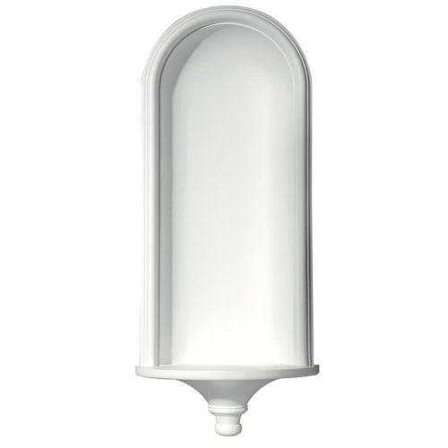 Focal Point 91520 Monterey Niche 16 7/8-Inch by 36-Inch, Primed White by Focal Point