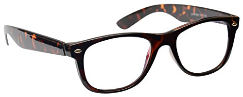 The Reading Glasses Company Brown Tortoiseshell Readers Mens Womens R7-2 (Brown Reader)