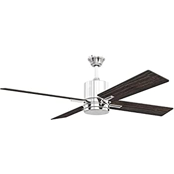 craftmade ceiling fan with led light tea52ch4 teana 52