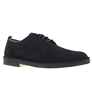 CLARKS Originals Mens Desert London Black Leather Shoes 8 US (B00MY2KKRA) | Amazon price tracker / tracking, Amazon price history charts, Amazon price watches, Amazon price drop alerts