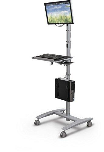 Balt 27614 Beta Sit Stand Mobile Workstation Cart, 67
