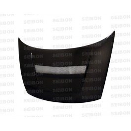 SEIBON 06-08 Civic 2D Carbon Fiber Hood VSII FG/FG1/FG2 (Hood Vsii Fiber Seibon Carbon)