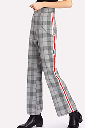In Zinmuwa Grey Con Pantaloni Donna Alta Caviglia 66w5CqRx