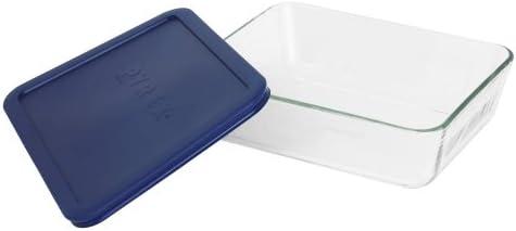 Pyrex Simply Store 6-Cup Rectangular Glass Food Storage Dish