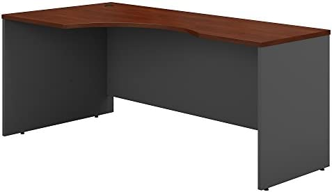 Bush Business Furniture Series C 72W Left Handed Corner Desk in Hansen Cherry