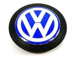 VW Emblem Blue Bluewhite EuroVan Golf R32 GTI Rabbit Jetta Wagon ()
