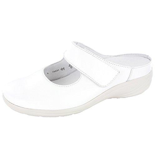 Semler Birgit B6455012/010 Damen Pantolette Weiß
