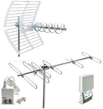 Fracarro Kit 8 Evo Antena Digital Terrestre 1 Antena Elika + Antena BLV6F + Amplificador + Alimentador 217940