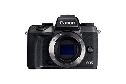 Canon EOS M5 Mirrorless Camera Body – Wi-Fi Enabled & Bluetooth (Renewed)