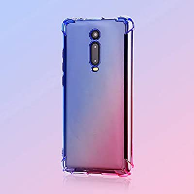 SHIEID Xiaomi Mi 9T Cover, Rainbow Color Gradient Backboard TPU ...