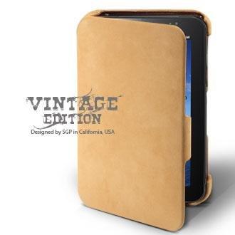 SGP Samsung Galaxy Tab Leather Case Vintage Edition Serie...