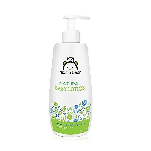 Amazon Brand – Mama Bear Natural Baby Lotion – 400 ml