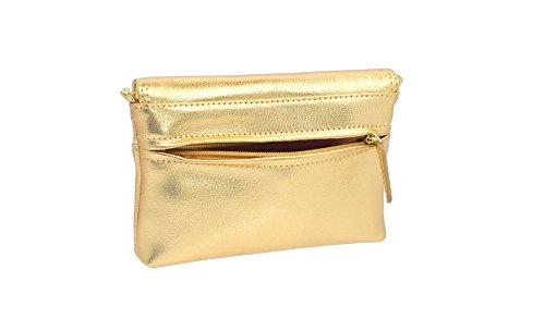 Gold Pewter Tula Shoulder Originals 8905 Clutch Nappa Old Bag Leather wqzUBwv