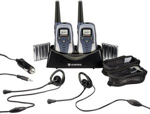 Audiovox GMRS602PK 6-Mile GMRS 2-Way Radio With Charger & Rechargeable ()