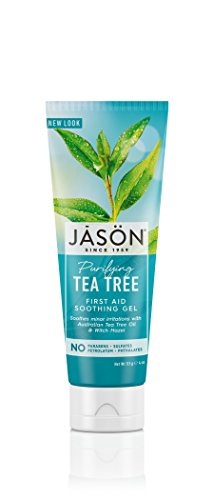 Jason Purifying Tea Tree First Aid Soothing Gel, 4 Ounce (Organic Aid First)