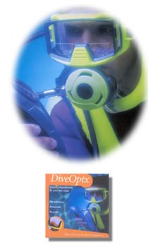 Dive Optx Flexible Magnifier Bi-Focal Inserts, 1.5 (FM98-1.5)