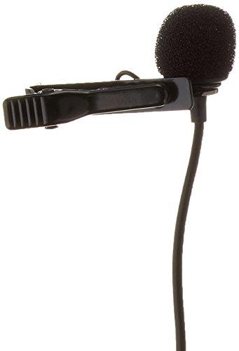Saramonic SR-GMX1 Platinum Lavalier Clip-on Microphone with Lapel Clip, Foam and Furry Windscreens ()