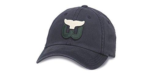 Hartford Whalers Nhl (NHL American Needle New Timer Slouch Adjustable Snapback Hat (Adjustable, Hartford Whalers))