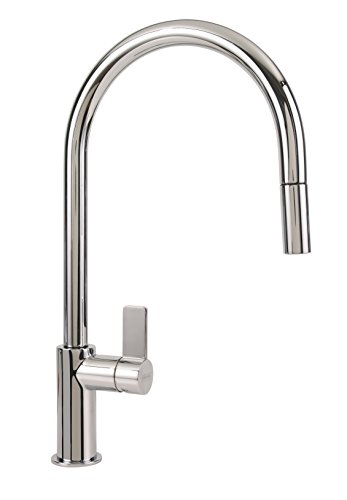 Franke FF3100 Ambient Single Handle Pull-Down Kitchen Faucet, Chrome