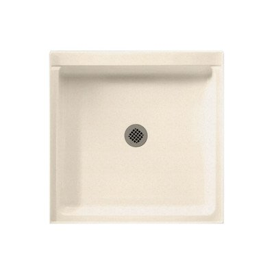 Rectangular Single Threshold Shower Base Finish: Bermuda Sand, Size: 34