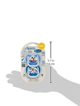 Amazon.com : Previenen diseño Chupete, Niños, Piso 2, 6-12 ...