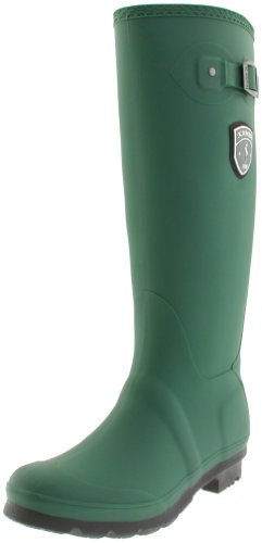 Kamik Womens Waterproof Jennifer Rain Boots Verde