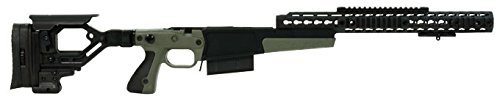 Accuracy International AX AICS Chassis REM 700 LA .300 WIN 16″ forend tube GREEN 26713GR