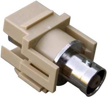 Ivory BNC Modular Insert Pack of 62 pcs Morris 88212