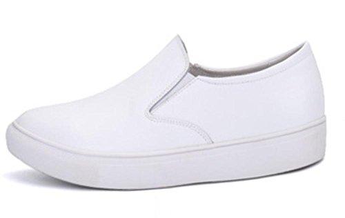 Frau Frühling Aufzug Schuhe niedrige Schuhe, flache Schuhe flach Mund sondern Schuhe helfen , US6.5-7 / EU37 / UK4.5-5 / CN37