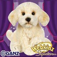 Webkinz Virtual Pet Plush - Signature Series - LABRADOODLE (Webkinz Deer)