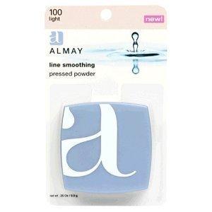 Almay Line Smoothing Pressed Powder, Light 100, 0.35-oz , 1 Each