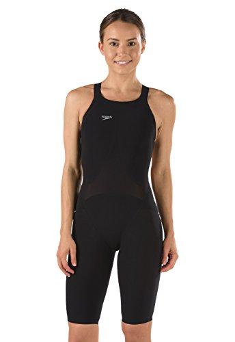 Speedo Lzr Racer Swimsuit - Speedo LZR Racer Elite 2 Comfort Strap Kneeskin,Black (001),25L