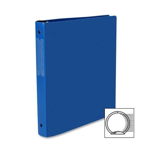 "Avery Hanging Storage Binder - 1"" Binder Capacity - Letter - 8.50"" Width x 11"" Length Sheet Size - 175 Sheet Capacity - 3 x Round Ring Fastener - Vinyl - Blue - 1 Each"