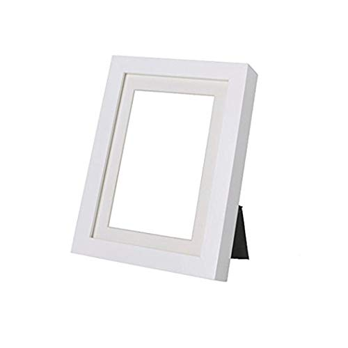 Ikea Ribba 5x7 Picture Frame (6, White) by Ikea
