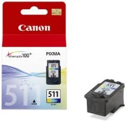 Canon Tintenpatrone Cl 511 Farbtinte C M Y 9 Ml Original Für Tintenstrahldrucker Bürobedarf Schreibwaren